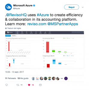 Tweetf from Azure