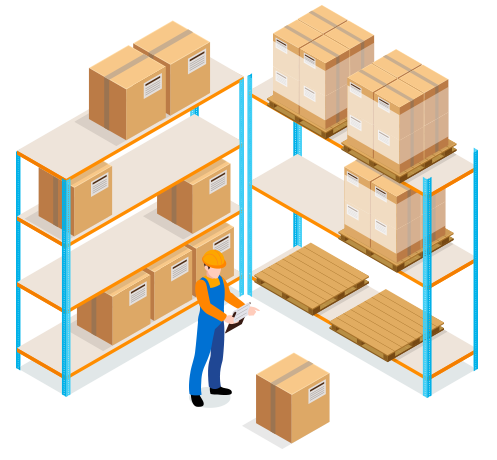 Inventory management is an important part of supply chain management.