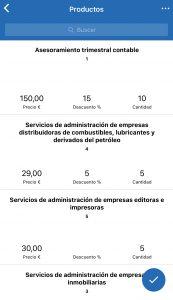App móvil Reviso Sales